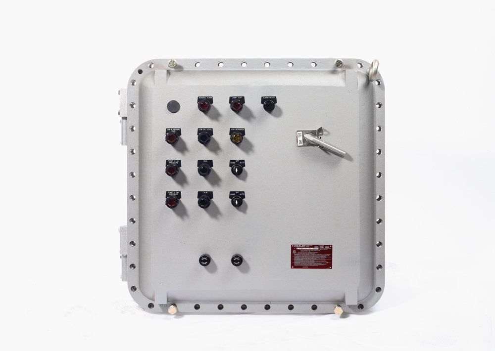 Nema7 enclosures for Class 1 div 2 motor disconnect switch